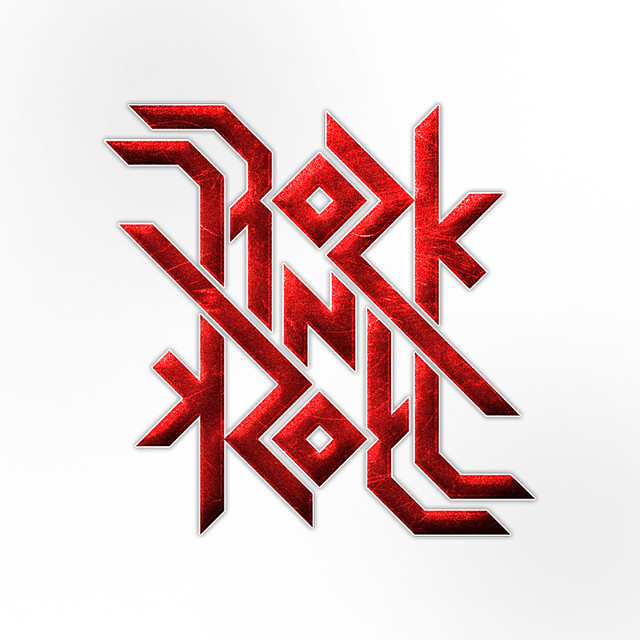 Rock n Roll ambigram