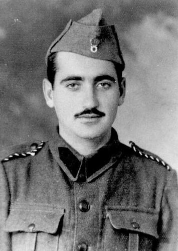 17/1/1941. Πορτραίτο ως έφεδρος αξιωματικός
