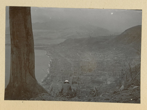 Mt. Pelee: [Overlook of St. Pierre, Martinique, after eruption of Mt. Pelee]