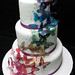 Butterfly wedding cake by Sweet Icing Bakeshop