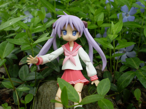 Kagami in the Garden