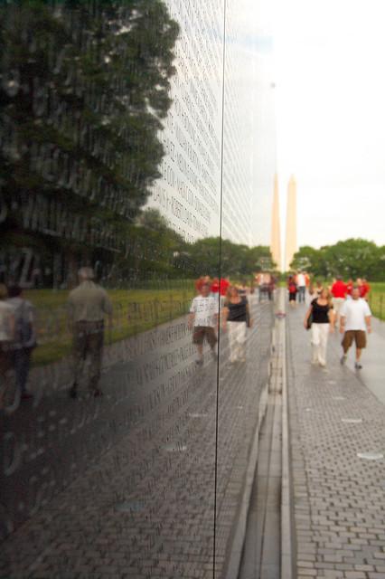 Vietnam Veteran Memorial Wall Washington DC Flickr