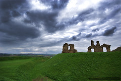 Sandal Castle by J . Richardson
