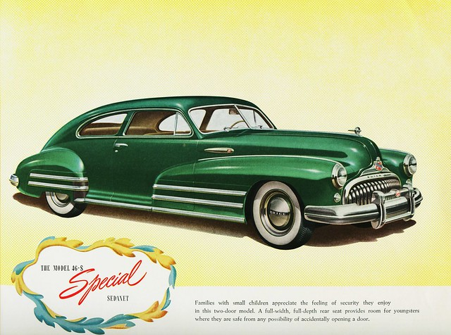 1947 Buick Special Model 46-S Sedanet, by Alden Jewell