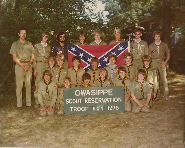 boy scout camp 1976