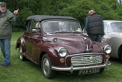 mid-size car(0.0), dkw 3=6(0.0), sedan(0.0), automobile(1.0), vehicle(1.0), morris minor(1.0), compact car(1.0), antique car(1.0), classic car(1.0), vintage car(1.0), land vehicle(1.0), luxury vehicle(1.0), motor vehicle(1.0),