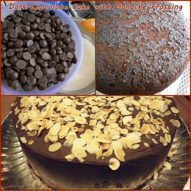 Dark-Chocolate Cake with Ganache Frosting | Flickr - Photo Sharing!