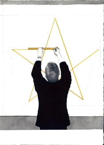 "Erik Parra ""Figure Drawing: Star Polygon"""