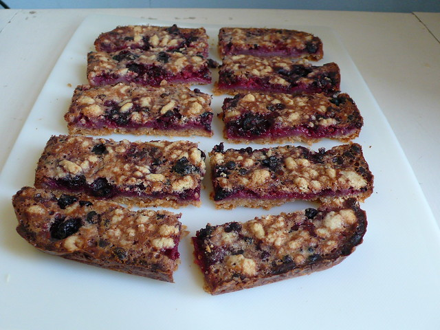 Berry cobbler pie bars | Flickr - Photo Sharing!