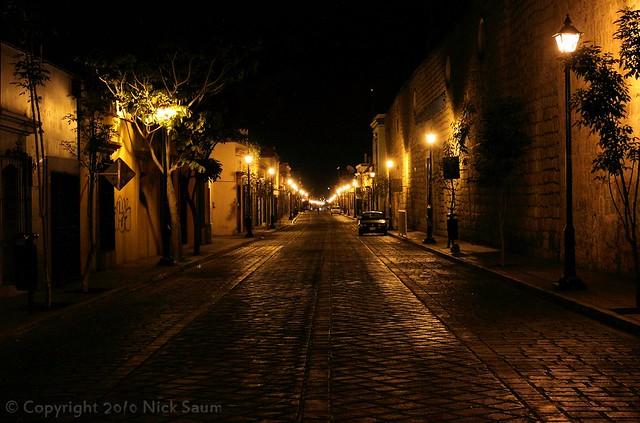 Oaxaca en la Noche