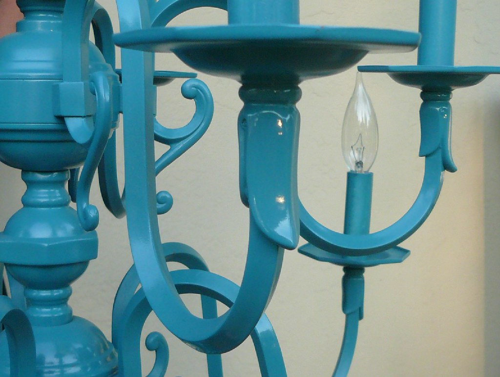 fedfe4a04 Vintage Chandelier detail on etsy | Azure, Turquoise, Cerule… | Flickr