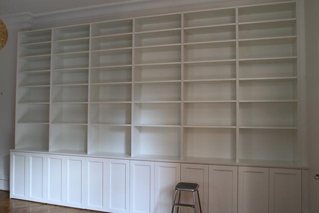 Bygga platsbyggd bokhylla