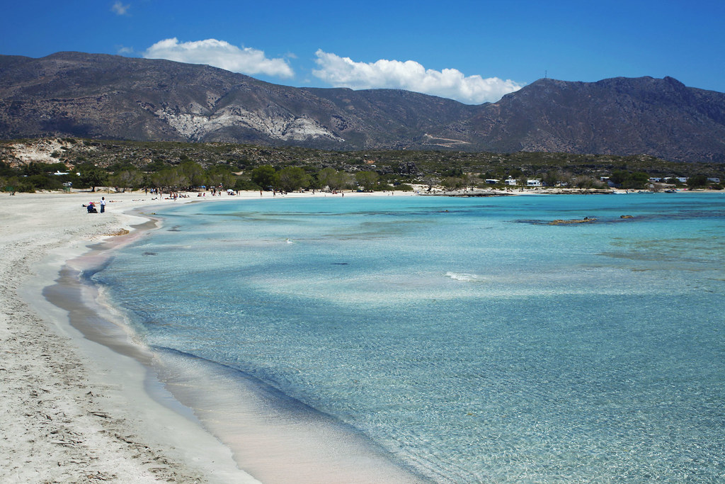 Элафониси пляж