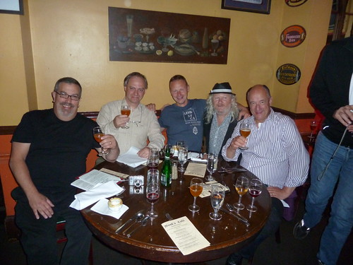 Tom Peters, Frank Boon, Jean Van Roy, Fergie Carey and Armand Debelder