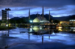 Faisal Mosque after the Rain by jzakariya