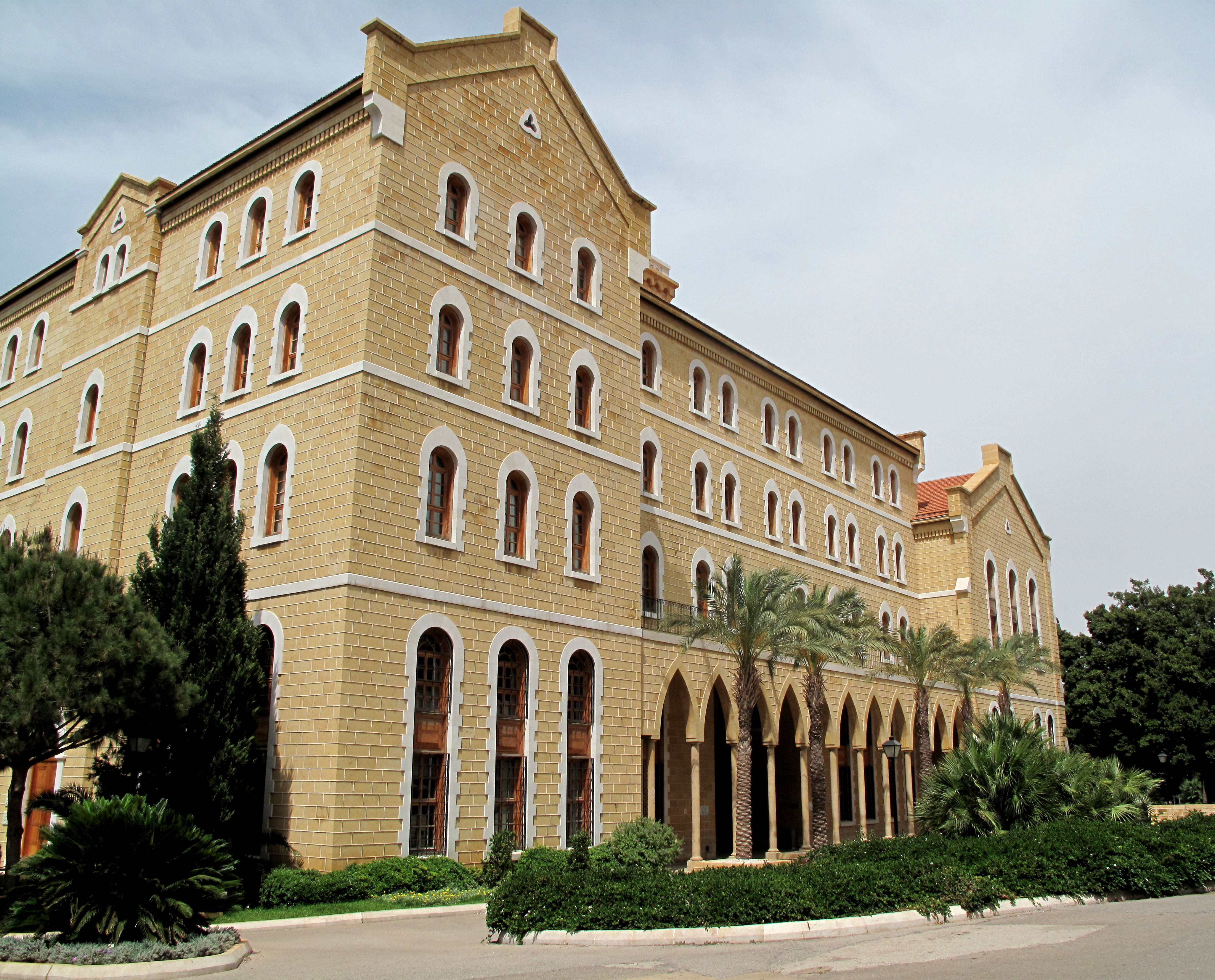 American University of Beirut campus building