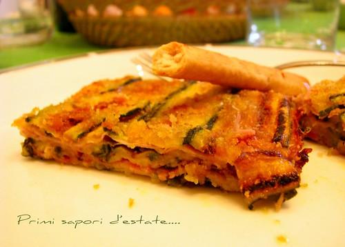 Un pizzico di cannella sfornato di zucchine e prosciutto for Cucinare zucchine in padella