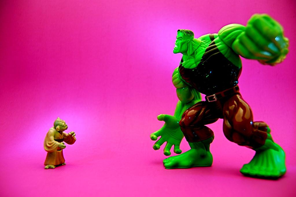 Yoda vs. Hulk (164/365)