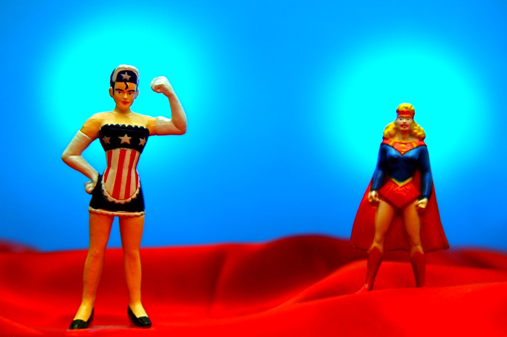 American Maid vs. Supergirl (165/365)