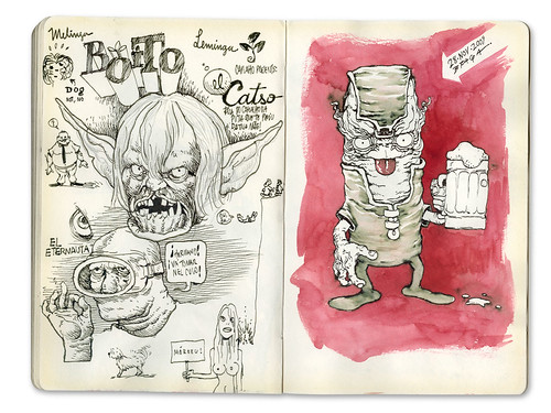 Sketchbook 2009