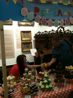 Cupcakes for sale at the Shipley Art Gallery