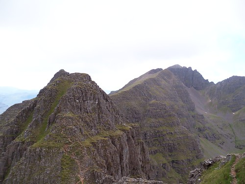 Liathach ridge path