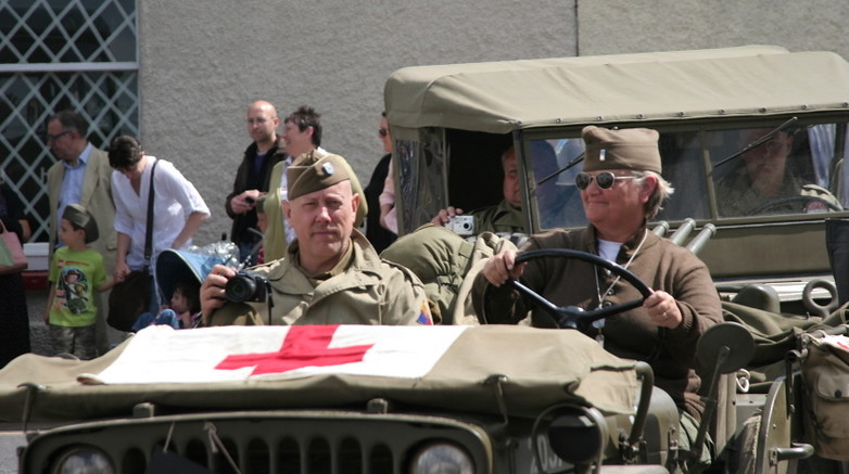 Maiden Newton At War - Vehicle Parade