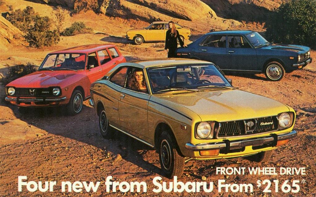 Subaru Subaru Hstory