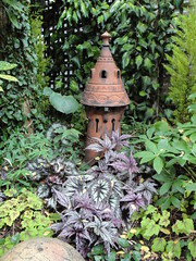 Chimney Pot with Begonias