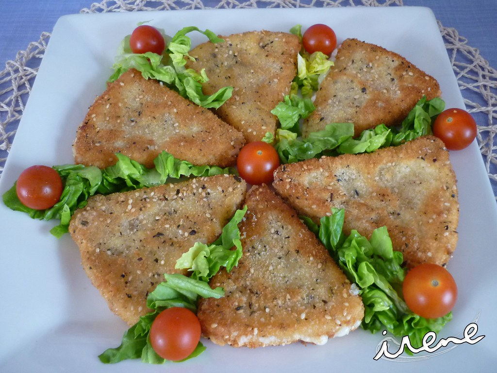La cocina casera de irene queso manchego frito for La cocina casera