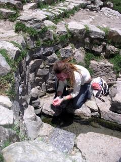 Amelia at Wari Spring
