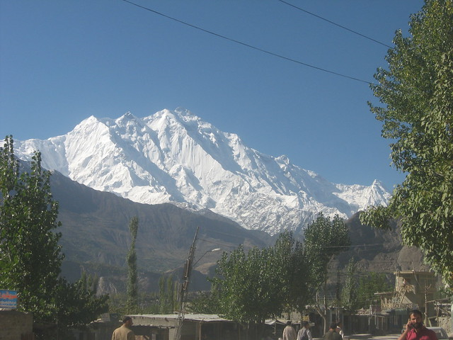 Mountain views from Aliabad