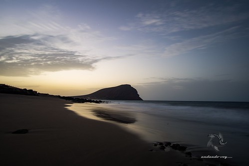playas beach hiking landscape tenerife paisajes sunrise sunset