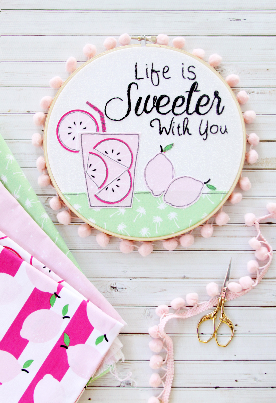 Life-is-Sweeter-with-You-Hoop-Art