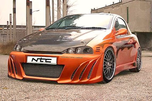 tuning cars and news opel tigra tuning. Black Bedroom Furniture Sets. Home Design Ideas