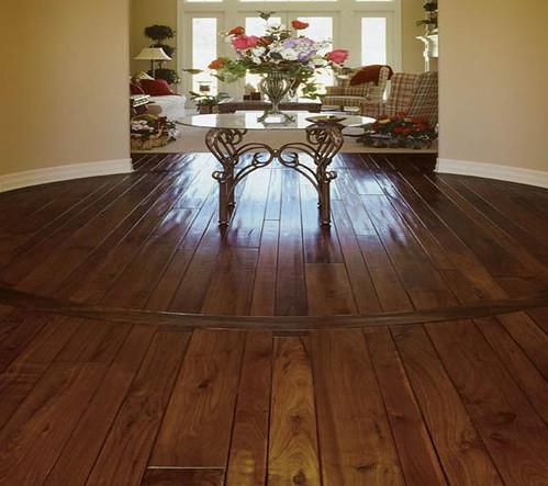 Solid Mahogany Floor