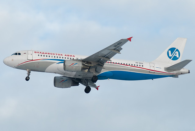 VQ-BCG Vladivostok Avia  Airbus A320-214