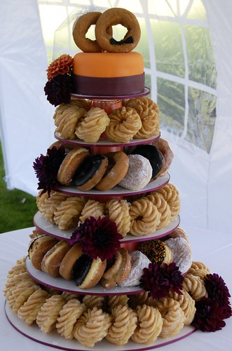 Ali S Wedding Doughnut Cake Flickr Photo Sharing