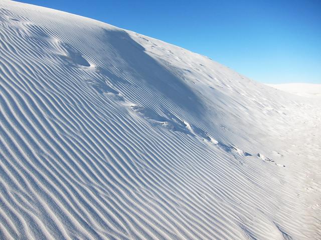 Desierto de White Sands, Nuevo México, Estados Unidos.