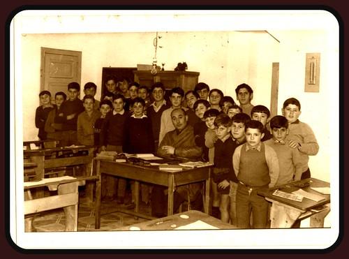Escola de Elviña ano 1966