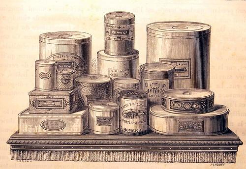 La boite de conserve le blog d 39 glantine lilas nalge - Cuisiner avec des boites de conserves ...