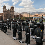 Weekly Parade in Cusco, Peru