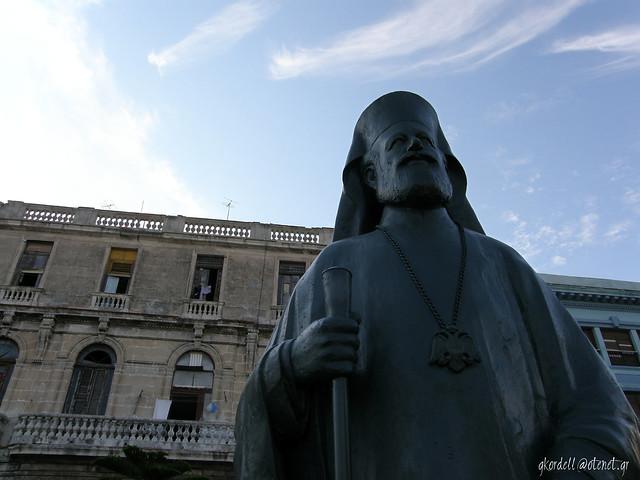 Makarios (statue in Havana)