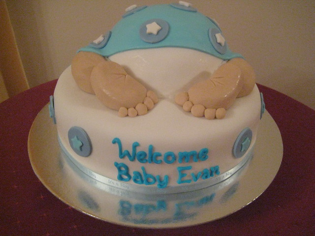 Baby Welcome Cake Images : photo