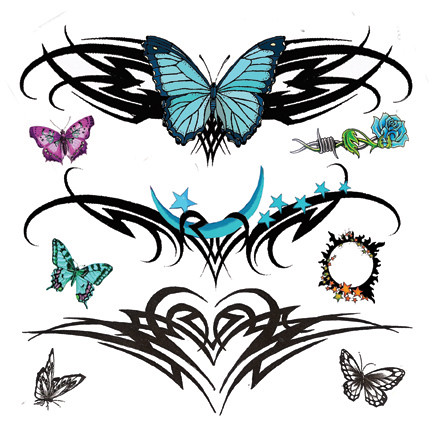 Butterfly Tribal Tattoos on Tribal Butterfly Tattoos Designs   Flickr   Photo Sharing