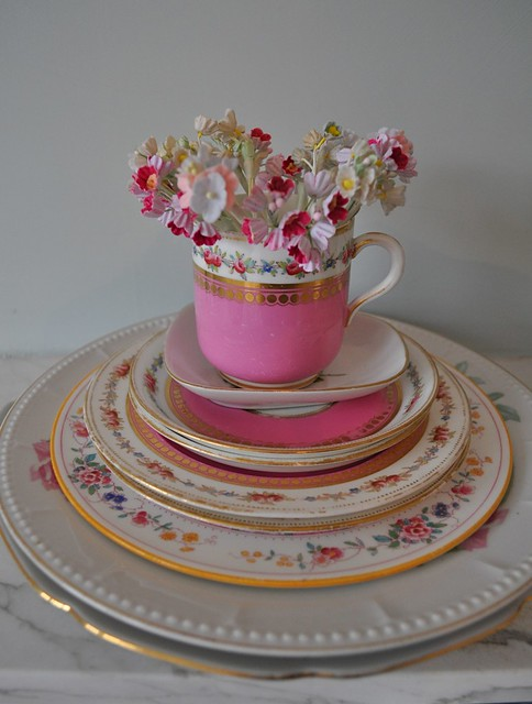 Vintage Thrifted China