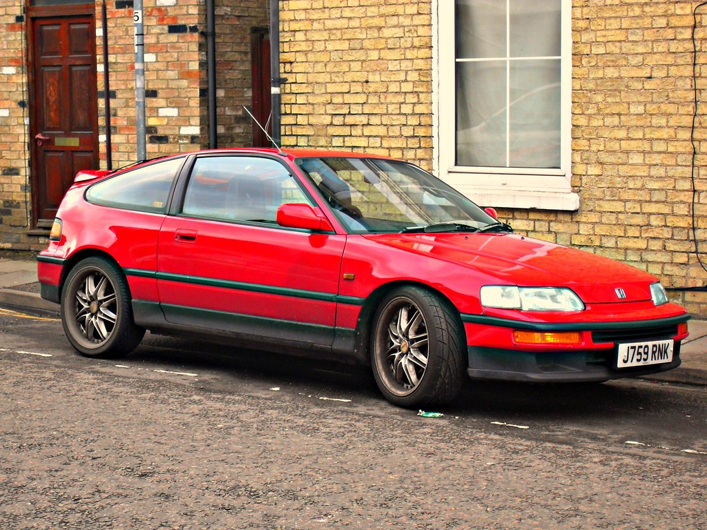 1992 honda crx 1 6 vtec a photo on flickriver. Black Bedroom Furniture Sets. Home Design Ideas