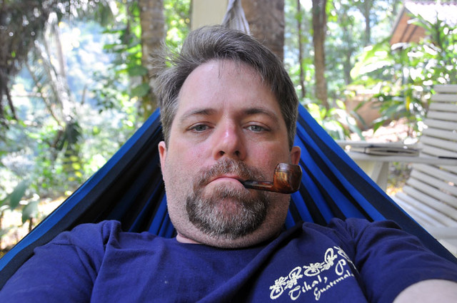 [Me in a Hammock in Belize]
