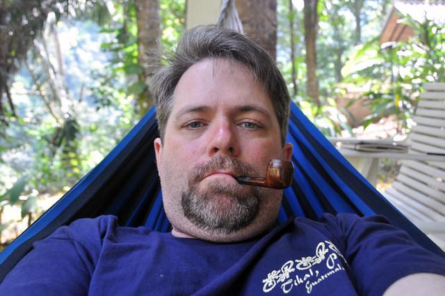 [Me in a Hammock in Belize]