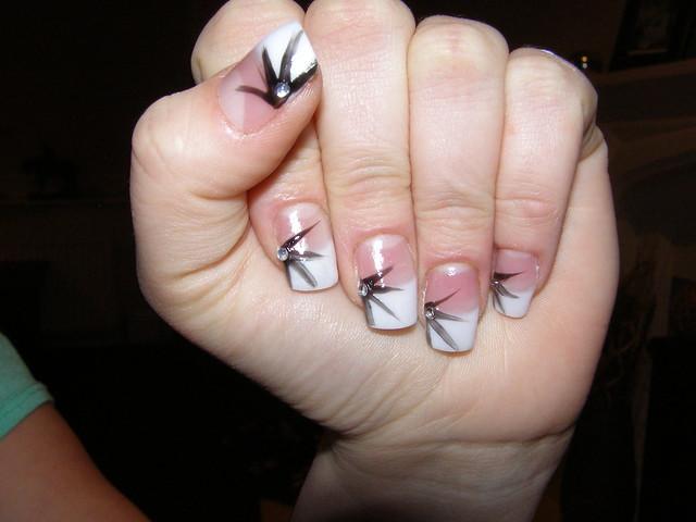 Nail Extensions With Nail Art | Flickr - Photo Sharing!